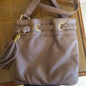 Michael kors lilac leather bag!